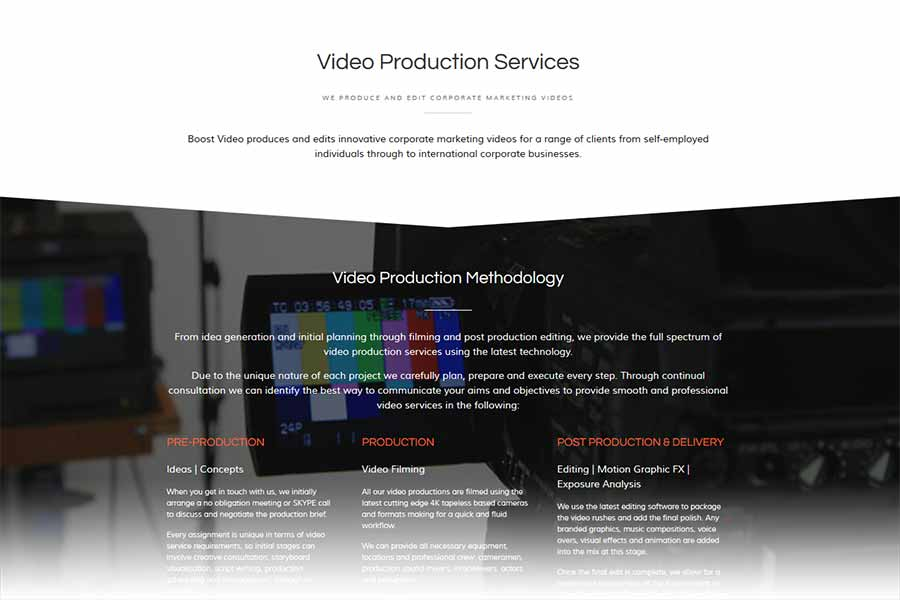 boost video production